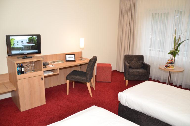 Studio Zimmer - Doppelzimmer - Twin Beds