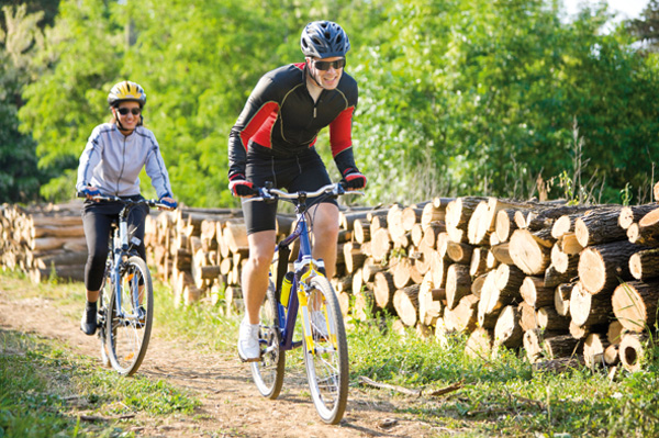 Radtour in Kronberg im Taunus
